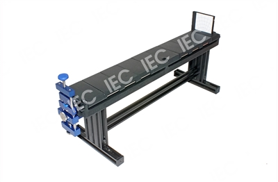 Precision Tool, Adjustable Lens Rail for Rigid Endoscopes, Black/Blue Anodized