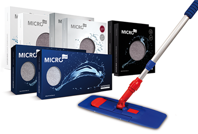 Superfiber Silver Commercial Cleaning Set