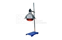 Curing / Heating Lamp Tool incl. Base Plate and Adjustable Height Pole