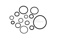 O-Ring Kit for Flexible Scopes/Control Knobs approx. 10 sizes 140/160 Compatible