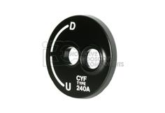 Olympus® CYF-240A Pre-Owned OEM Sidecover w/markings