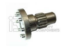 Shaft/Gear with Pins Hall® osz. Saw Series 4
